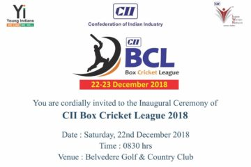 CII IWN Gujarat Chapter -  Box Cricket League 2018
