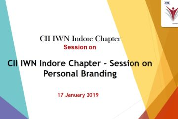 CII IWN Indore Chapter - Session on Personal Branding