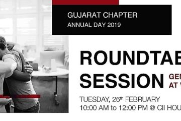 "CII IWN Gujarat Chapter - ""Round Table on Gender Equality at Work"""