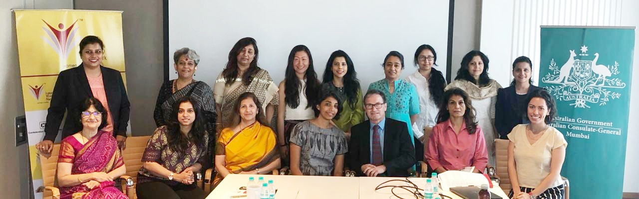 CII IWN in collaboration with Australian Consulate General - Roundtable Discussion on Women's Social Entrepreneurship