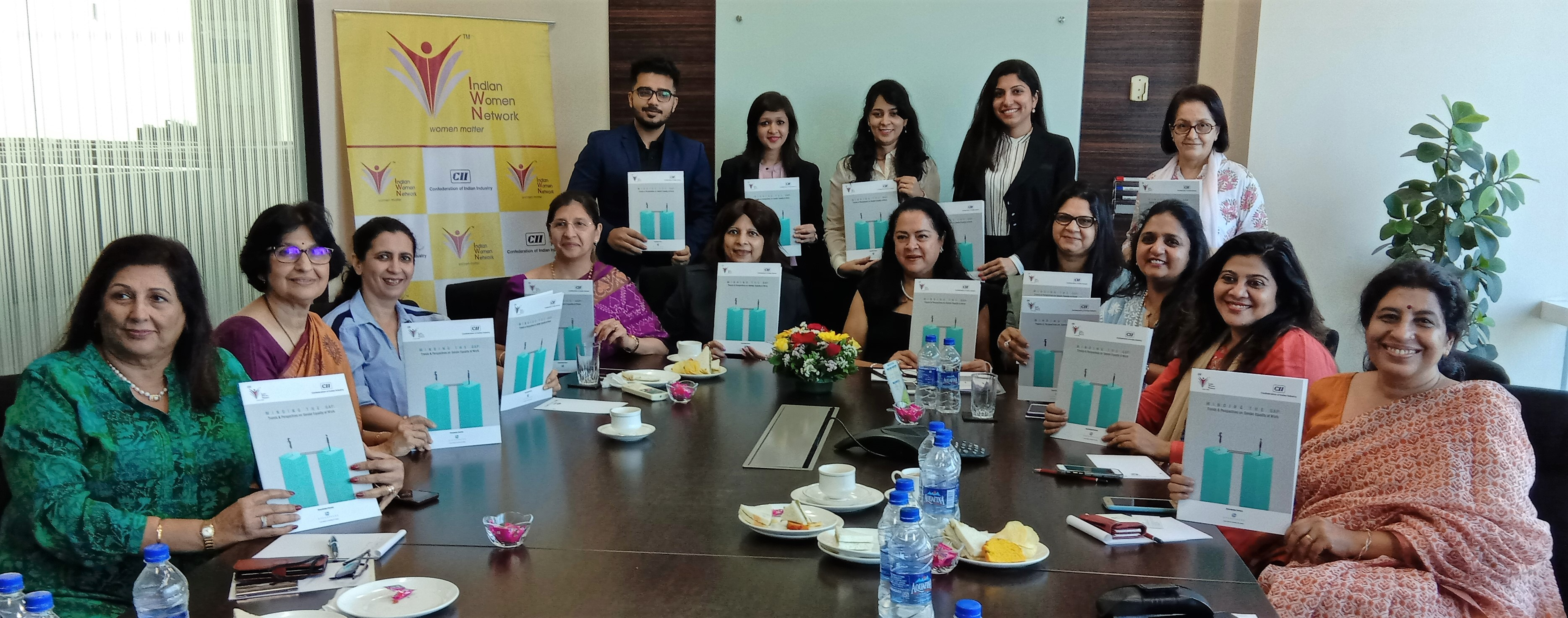 CII Indian Women Network Session on Minding the Gap