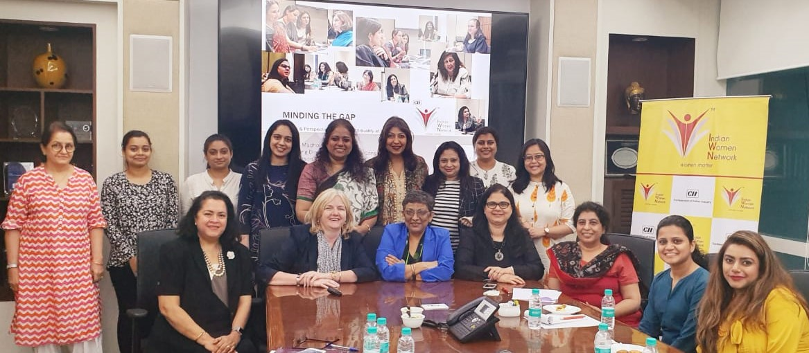 CII Indian Women Network - Creating a More Gender-Equal World - Interaction with Ms Ishbel Morrison  Global HRD, Kantar Insights