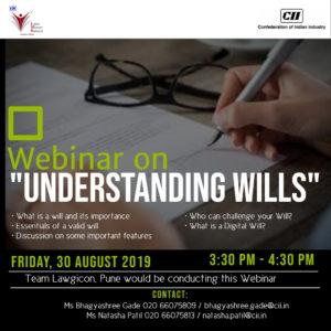 "CII-IWN Pune Chapter - Webinar on ""Understanding Wills"""