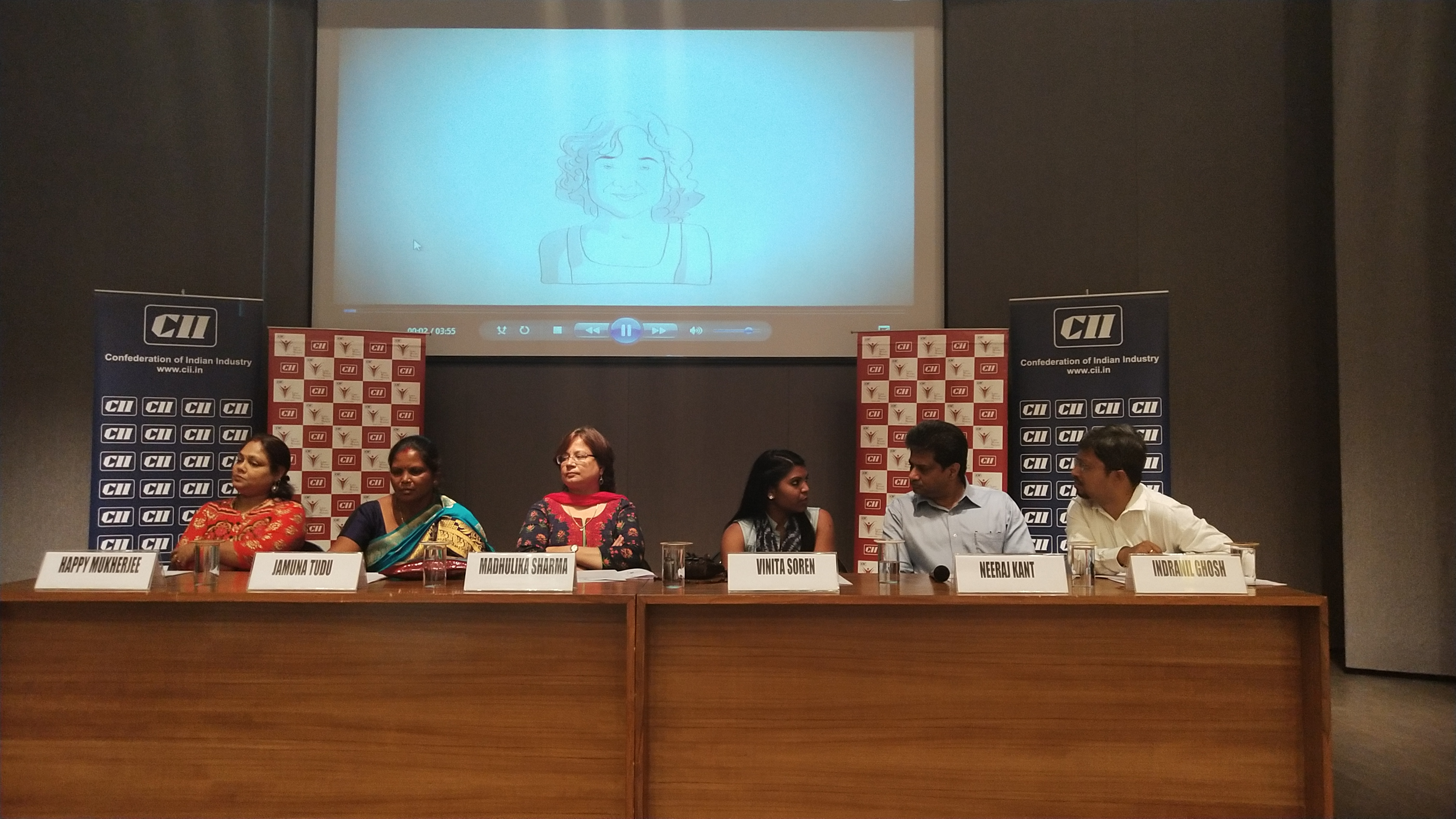 """CII-Indian Women Network (IWN) Jharkhand Chapter organised session on Enhance your Professional connect & """"Climb High"""" to motivate women professionals with the inspiring journey of successful women"""