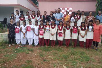 CII-Indian Women Network (IWN) Jharkhand Chapter Install Sanitary Napkin Disposal Bins at Project Balika Uchh Vidyalaya, Baharagora, Jharkhand