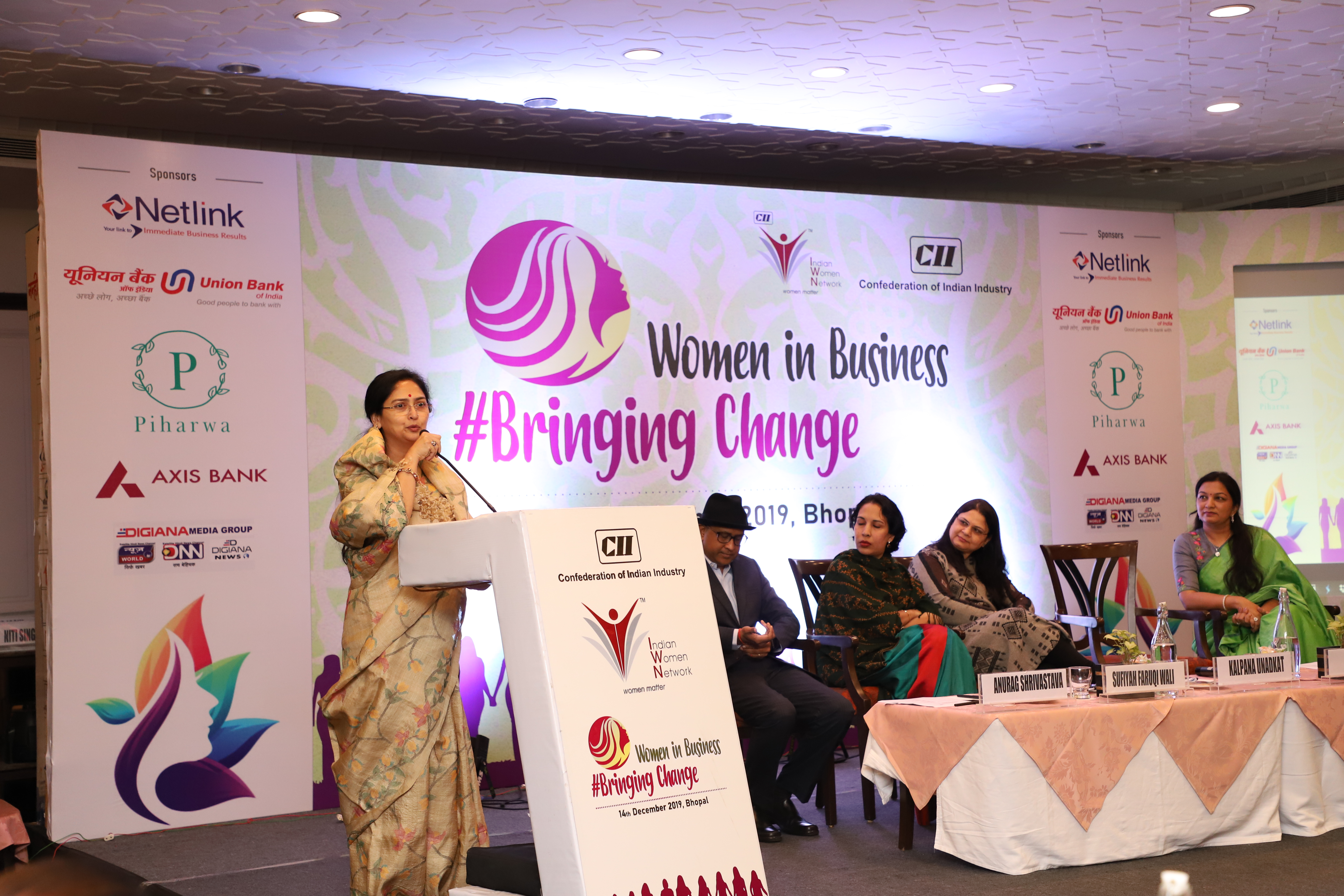 CII - IWN Women in Business # Bringing Change Conclave 2019