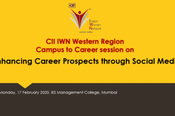 "CII IWN WR Campus to Career session on ""Enhancing Career Prospects through Social Media"