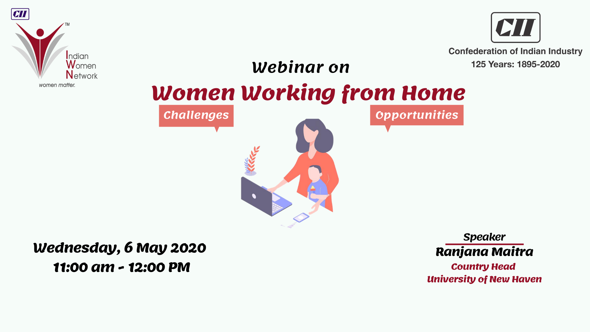 CII IWN WR - Webinar on Women Working from Home - Challenges and Opportunities
