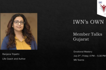 "CII IWN Gujarat Chapter online session on ""IWN's OWN"""