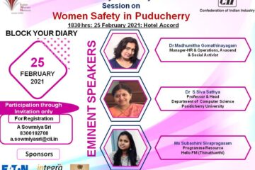 IWN Puducherry  Annual Day 2021-22 Session on  Women Safety in Puducherry